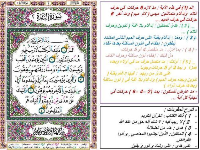 سورة البقرة مع شرح المفردات و أحكام التجويد الأساسية فيها منتديات الجلفة لكل الجزائريين و العرب Bullet Journal Journal
