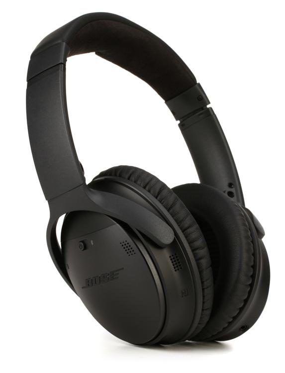 Bose Quietcomfort 35 Wireless Headphones Ii Bluetooth Noise Canceling Headphones Black Bluetooth Noise Cancelling Headphones Wireless Noise Cancelling Headphones Noise Cancelling Headphones