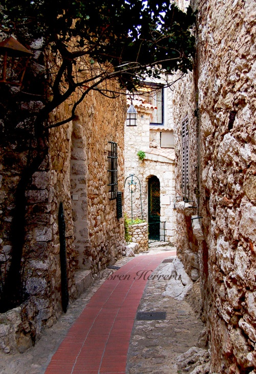A rustic street in Eze, France.: Enchanting Alleys, Places I D, Plain Places, Amazing Alleys, France Eze, Beloved Places, Beautiful Views Places