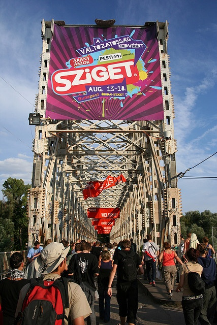 go back to sziget festival in budapest