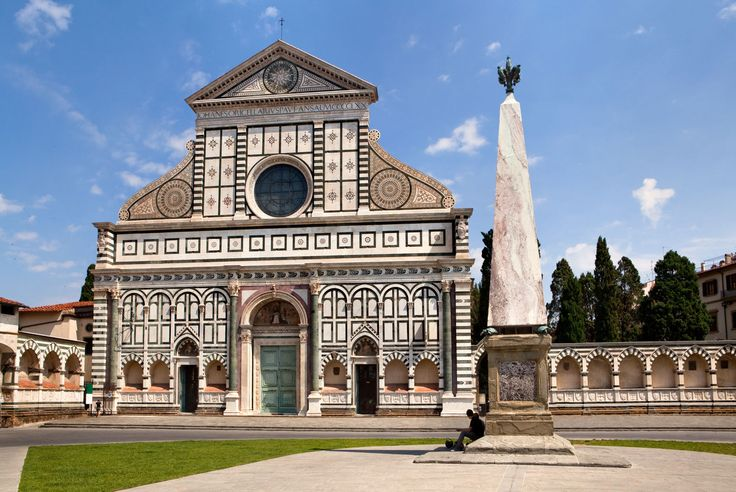 Santa Maria Novella is one of  the best examples of Gothic architecture in Tuscany. A visit inside is highly recommended too.