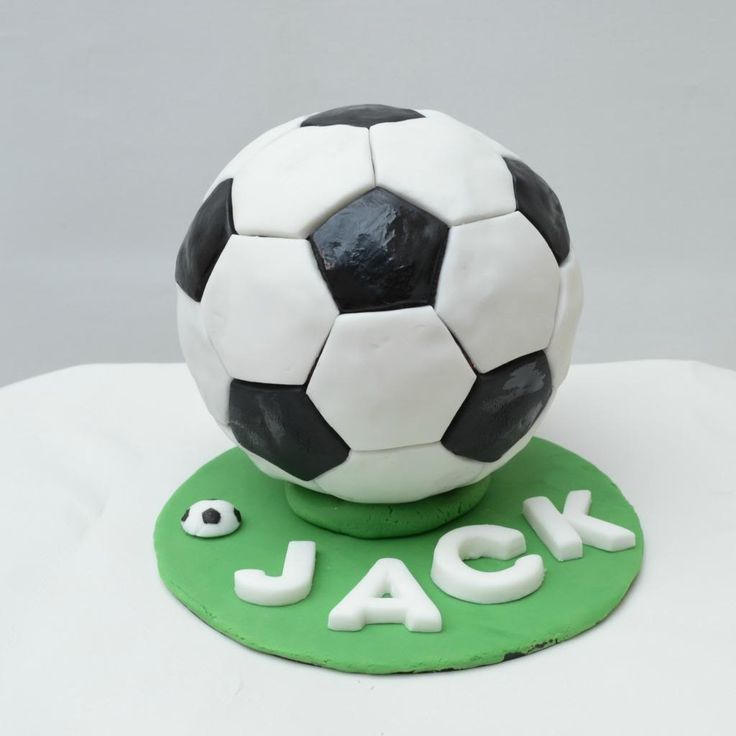 The Crazy Kitchen: My baby turns Four & a Football Birthday Cake