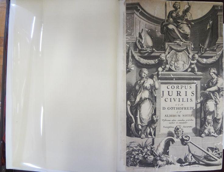CORPUS Juris Civilis.  Amstelaedami:  Joannem Blaeu, Ludovicum, e Danielem Elzevirios, 1663.  Idioma: Latim