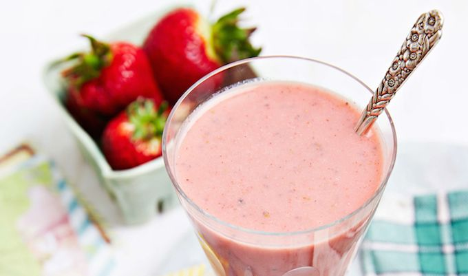Hot Flash Healer. Dealing with dreaded hot flashes? This smoothie could help!