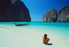 Somewhere in Asia...Thailand or Phillipines...either way I want to be that chick in the photo!!