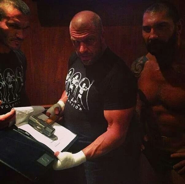 Triple H Evolution 2014 17 Best images about B...