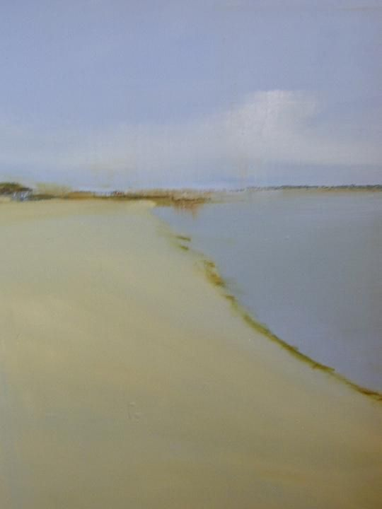 """Cape Beach"" by Provincetown artist Anne Packard"
