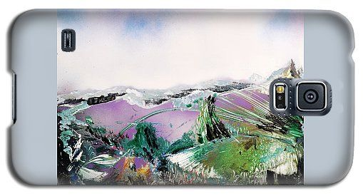 Lake Of The Dawn Galaxy S5 Case Printed with Fine Art spray painting image Lake Of The Dawn by Nandor Molnar (When you visit the Shop, change the orientation, background color and image size as you wish)