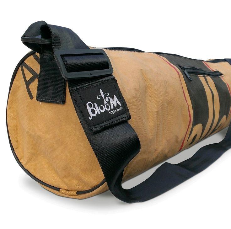 Bloom Yoga Bag - die Upcylcling-Yoga-Tasche online kaufen im Mangolds Webshop für Yoga-Matten & -Taschen, nachhaltig, umweltfreundlich, zero waste.
