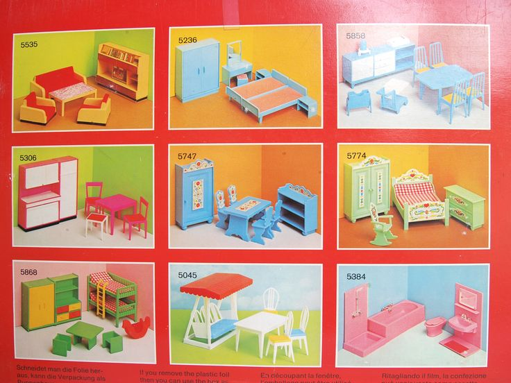 1960s 1970s JEAN furniture sets | by diepuppenstubensammlerin