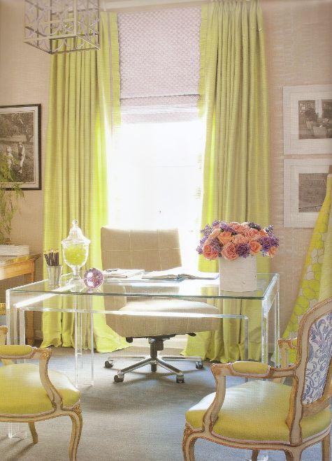 yellow & lucite (by amanda nisbet)
