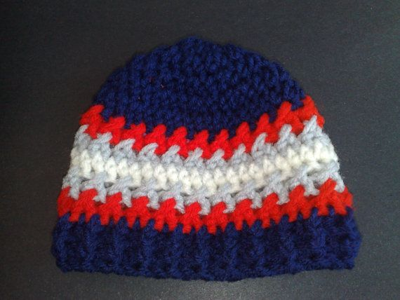 New England Patriots Hat NFL Crochet Hat by ...