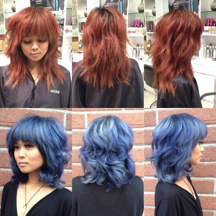 TRANSFORMATION: Wow Red To Wow Blue | Modern Salon