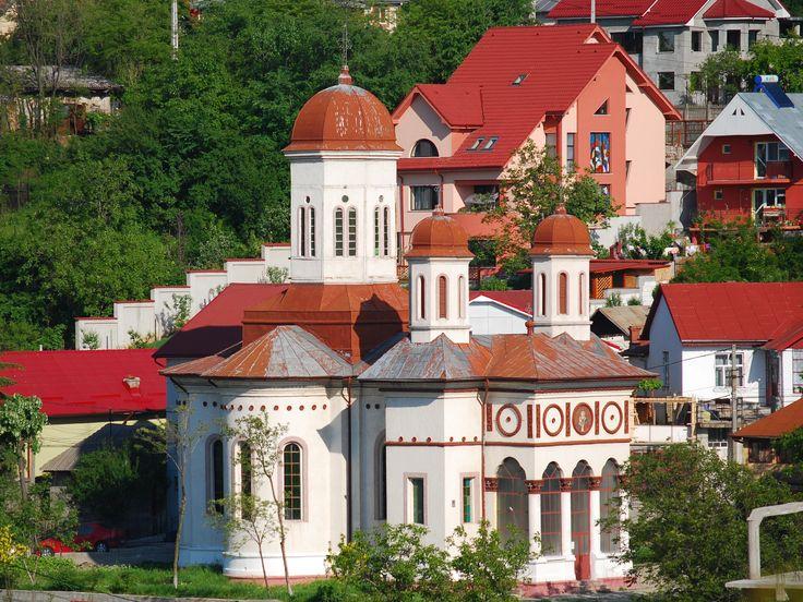 """Biserica """"Sfântul Nicolae din coastă""""(1700, refăcută în 1889),strada Vintilă Vodă, Slatina"""
