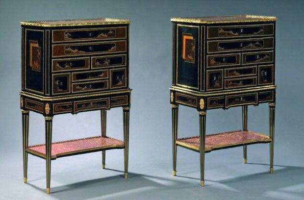 Les 118 meilleures images du tableau cabinets en laque du for Meuble antique japonais