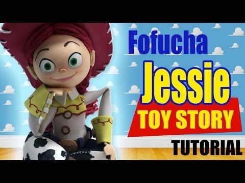 Fofucha Jessie Toy Story Tutorial - YouTube