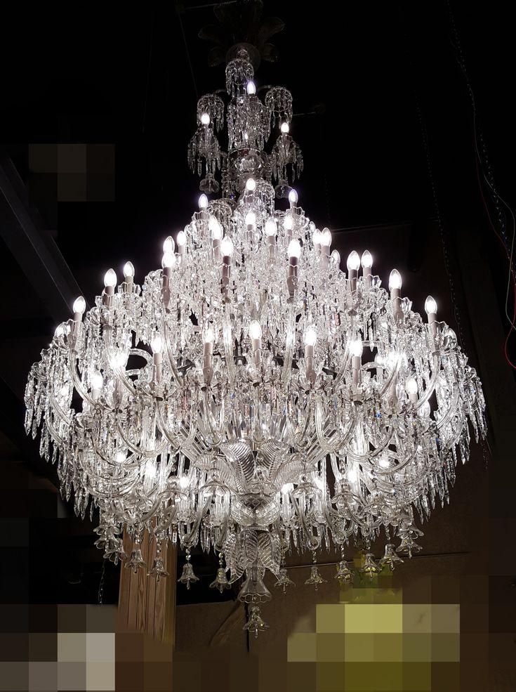 Exklusiver Bleikristall Kronleuchter Palast Kronleuchter Kronleuchter  Modern. Kronleuchter Lüster Lampen Fachgeschäft CH Schweiz Palast  Kronleuchter