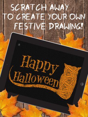 iScratch Halloween iPad Screenshot 1 found on AnyKey.Com