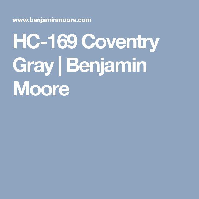 HC-169 Coventry Gray | Benjamin Moore