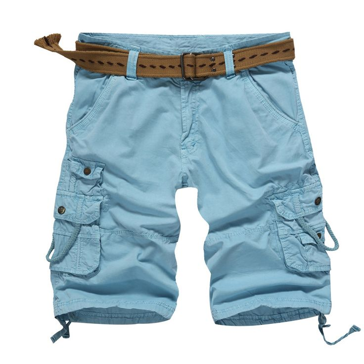 New Men Camouflage Cargo Military Shorts Cotton Overalls Outing Comfortable Casual cotton  shorts
