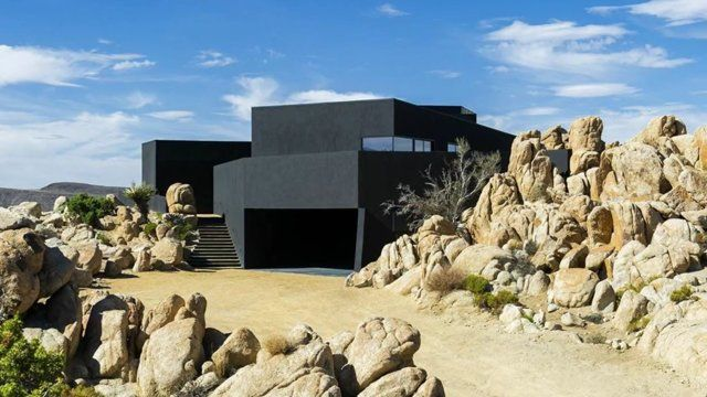 Black Desert house, joshua tree natonal park