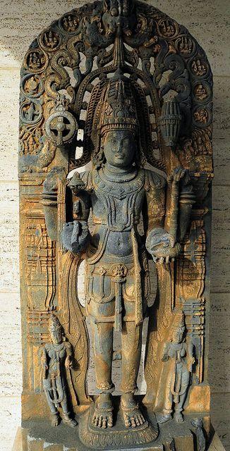Vishnu Karnatak - Mysore South India, 12th Century at The Kreeger Art Museum Washington DC