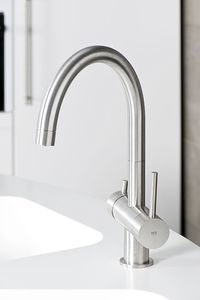 Modern style kitchen taps. #kitchen #tapware