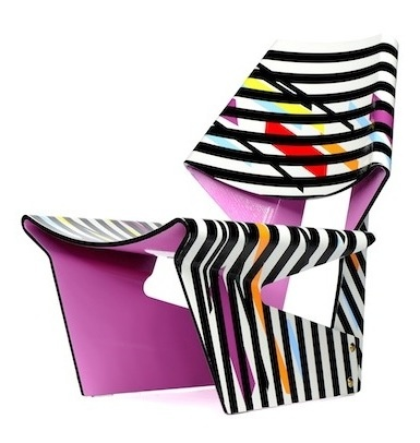Pink Jalk Project GJ Chair Designed by Christopher Coleman
