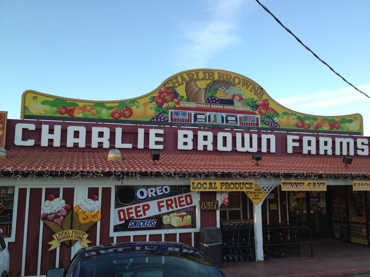 Charlie Brown Farms - Littlerock California- off pearblossom highway