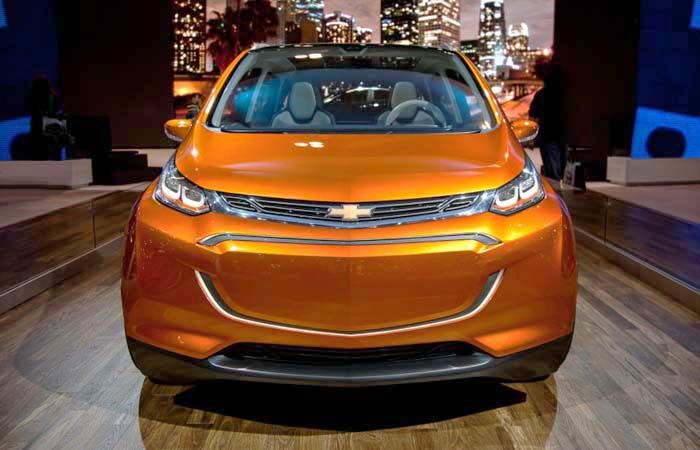 2018 Chevy Bolt overview