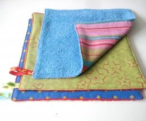 Burpcloth DIY - Made from #recycled towels