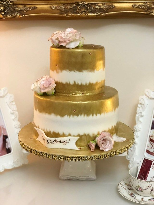 23 Brilliant Picture Of Elegant Birthday Cake Baking With Roxanas Cakes BirthdayCakeToppers