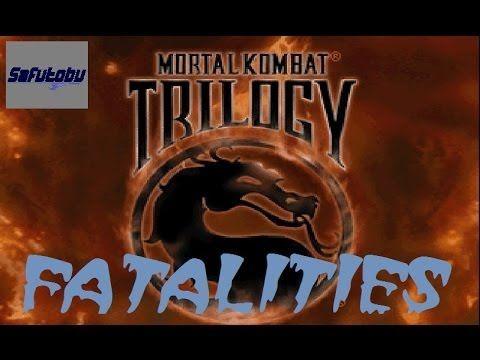 Mortal Kombat Trilogy - All Fatalities / Animalities / Babalities / Frie...