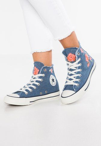 1f01027b51e3df Chaussures Converse CHUCK TAYLOR ALL STAR BIG EYELETS - Baskets montantes - pure  platinum light carbon white gris clair  74