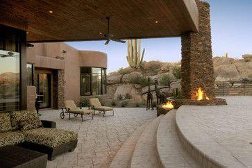 130 best images about Southwest Architecture on Pinterest ... on Southwest Backyard Ideas id=46532