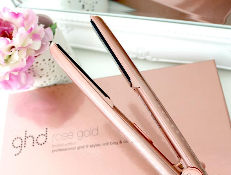 rose gold ghd straighteners