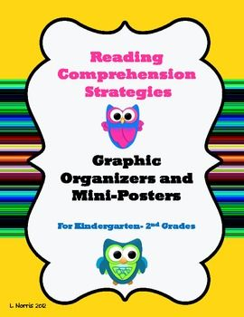 Make reading a hoot with these active reading strategy graphic organizers and mini-posters!I had previously offered 5 of these organizers as fr...