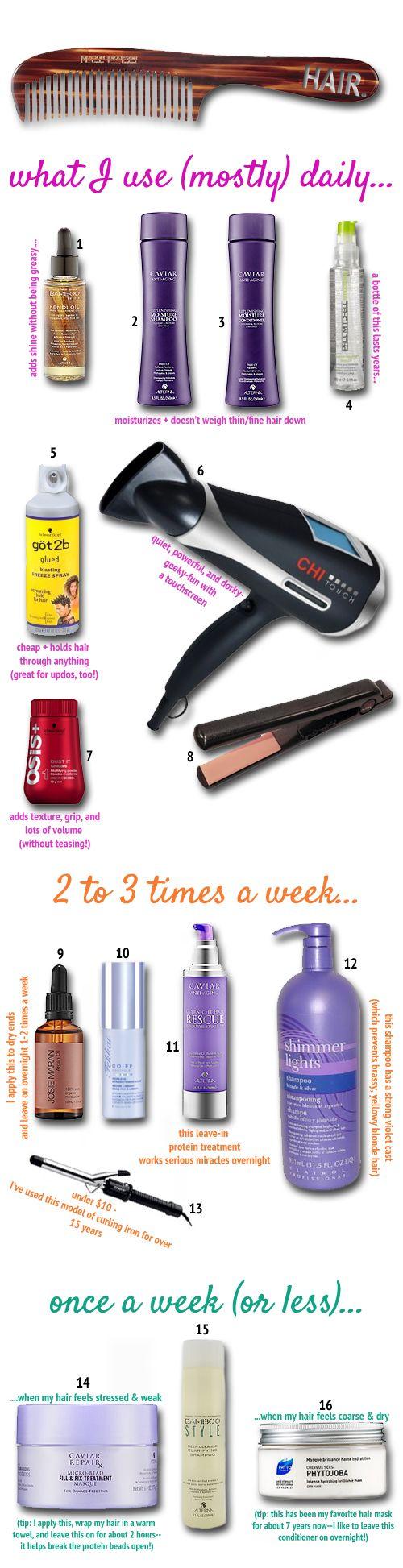 Products for fine blonde hair   t h e (c h l o e) c o n s p i r a c y : fashion + life + style