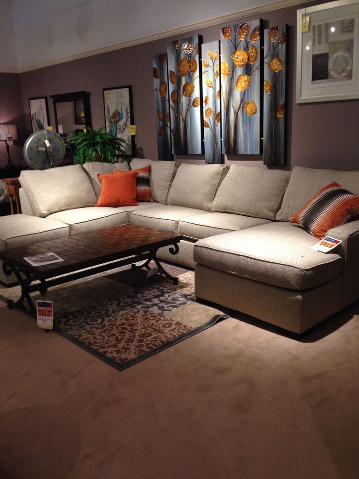 L Shaped Couch From Hutsons | ATTIC IDEAS | Pinterest | Living Rooms, Room  And House