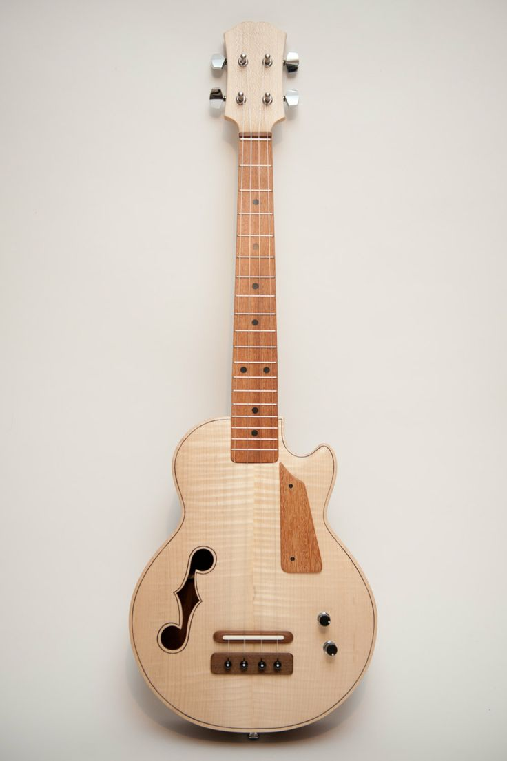 Dovetail template printable guitar - Les Paul Style Tenor Ukulele Natural Wood By Celentanowoodworks 900 00