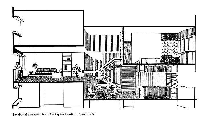 1969 - Pearl Bank Apartments - Tan Cheng Siong - coupe
