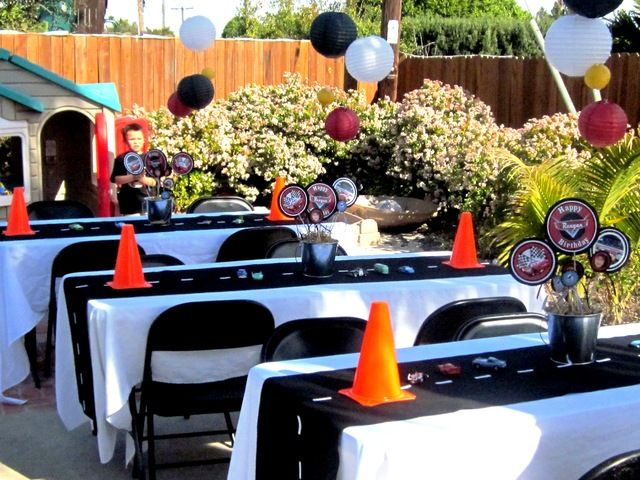 """Photo 7 of 71: Disney Pixar Car's Party / Birthday """" Raceway"""" 