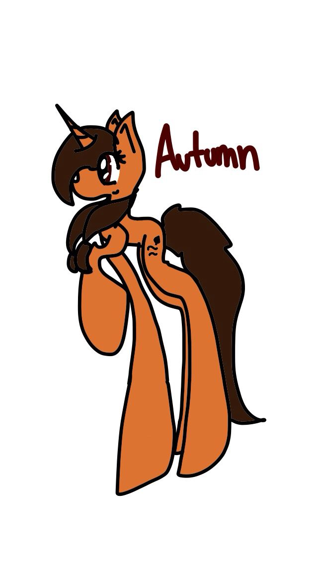 Autumn a oc I adopted from @lybarn she's so adorable!