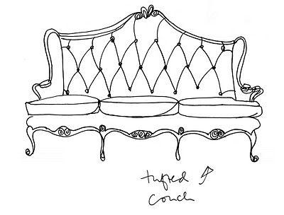 Furniture inspiring furniture sketches design ideas for Sofa design sketch