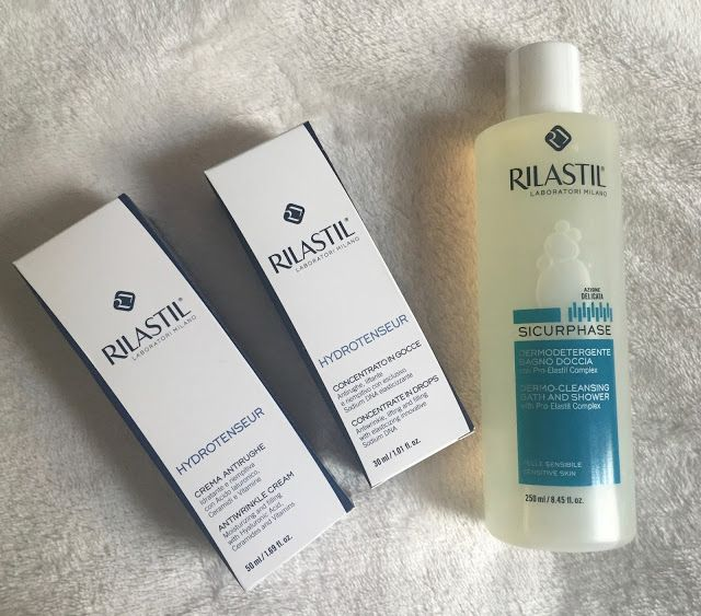Fashion on Stage: Some products for body and skin care: Rilastil SS2...