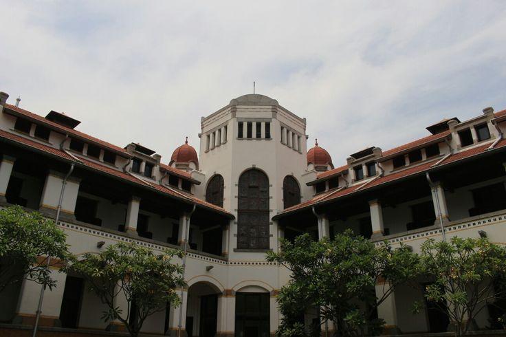 Lawang Sewu #Indonesia #Building #Vintage