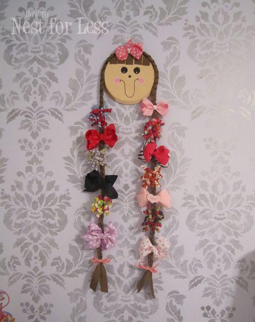 Crafty Girl Hair Bow Holder - Design Dazzle