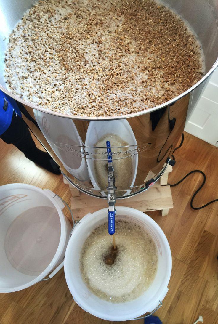 Brewing APA Beer Brew 50 l.