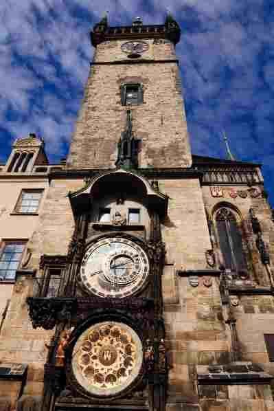 An astronomical clock