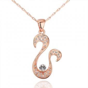 Upswept 18 Karat Gold Plated Necklace